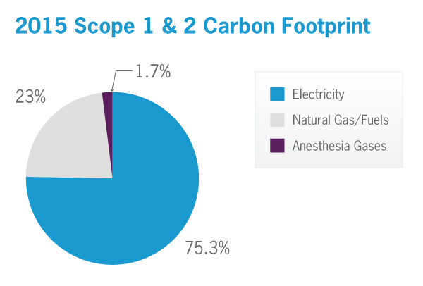 Cleveland Clinic Carbon Footprint