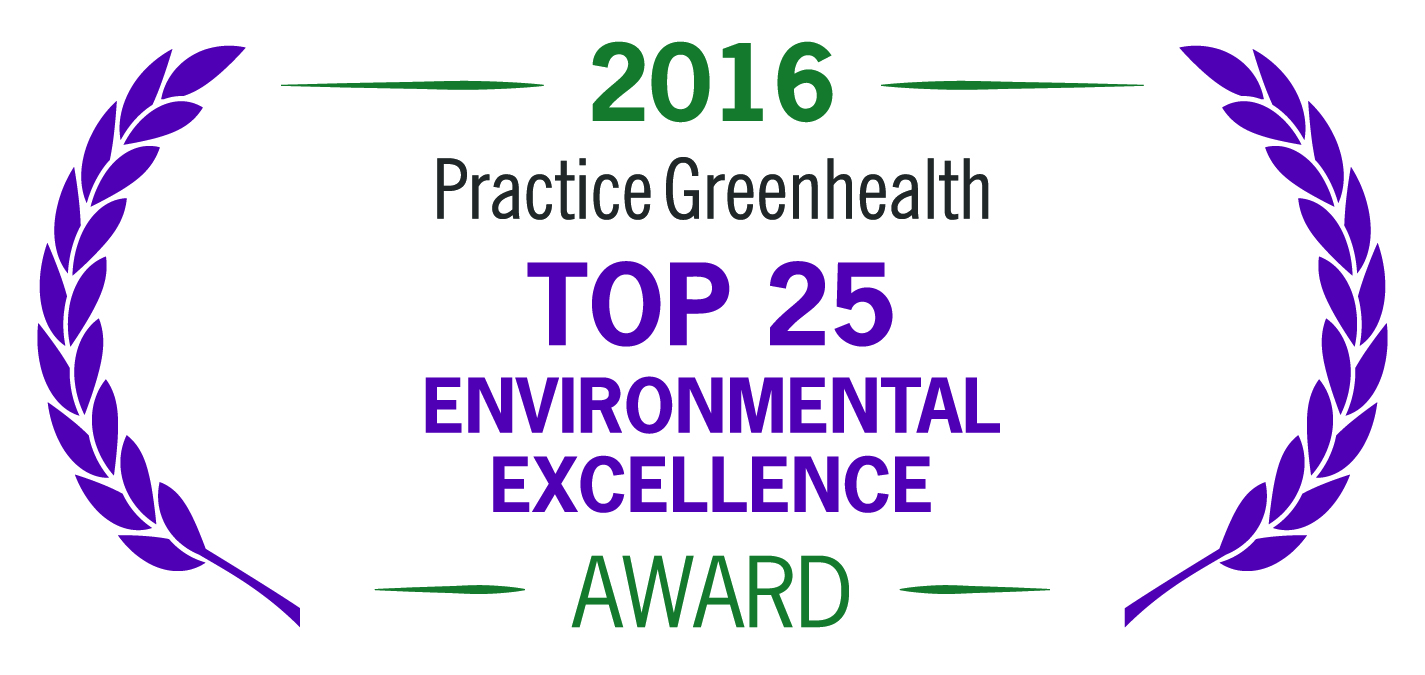 Practice Greenhealth Top 25 Environmental Excellence Award