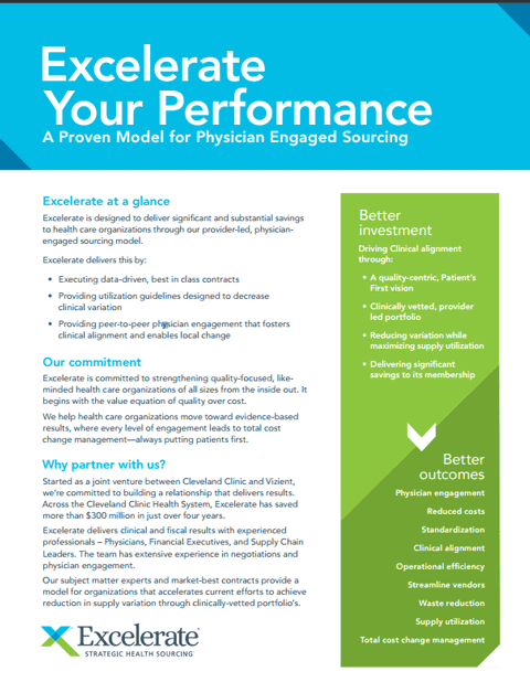 Excelerate Your Performance