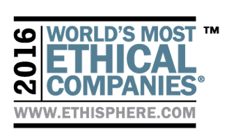 2016 Word's Most Ethical Companies